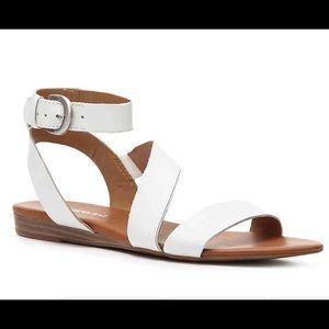 Franco Sarto Gustar Sandals in White.